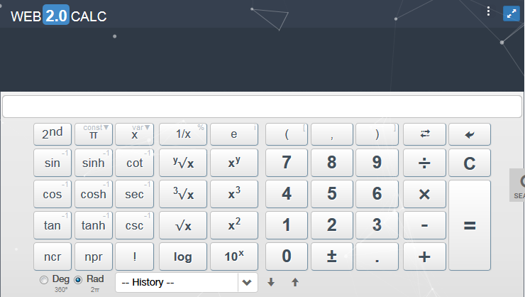 web2calculator