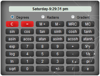 widgetcode scientific calc