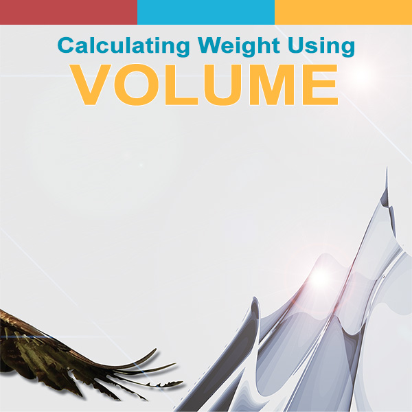 Calculating Weight Using Volume